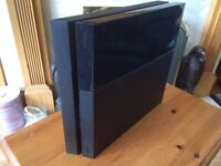 PS4 Sony PlayStation 4 With Controller & Leads