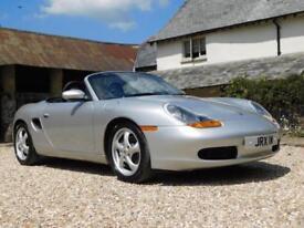 Porsche 986 Boxster 2.5 - timewarp car, one family owned, full Porsche history