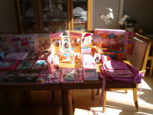 Barbie Collection for a little girl!