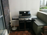 Weber Genesis E320 NG BBQ  - Like New