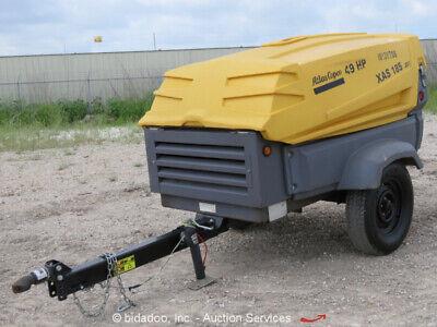 2013 Atlas Copco Xas185jd7pe 185 Cfm Towable Diesel Air Compressor Repair