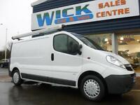2012 Vauxhall VIVARO 2900 CDTI ECOFLEX LWB Van *LOW MILES* Manual Medium Van