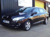 2012 (61) Renault Megane 1.5dCi 110 Dynamique Tom Tom Est Diesel £20 road tax