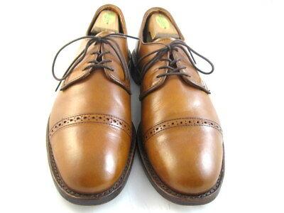 """Allen Edmonds """"BOULEVARD"""" Oxfords 9 D Walnut  (515)"""