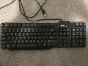 DELL Wired Keyboard  - PERFECT CONDITION