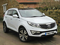 2012 KIA SPORTAGE 2.0CRDi KX- 3( AWD ) ( Sat Nav ). FULLY LOADED !!