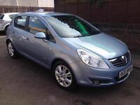 2008 (08) Vauxhall Corsa 1.4i 16v Design 5 Door Hatchback Petrol Manual
