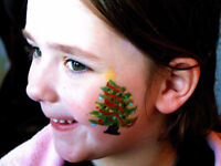 Face Painting With The Kids This Holiday Season!
