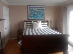Master suite in our home  **RENTED**