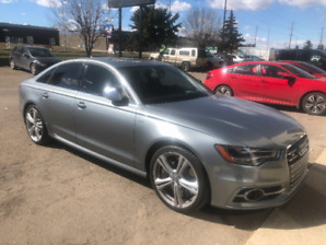 2013 Audi S6. Extended Warranty 2021 OR 140,000.