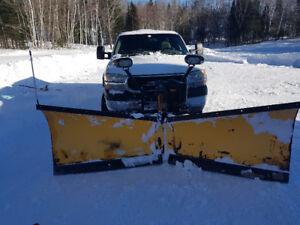 9.5 meyer v-plow