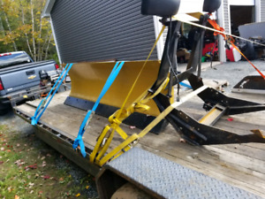 Fisher 8ft, full hydraulic plow
