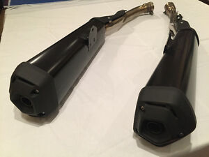 2015 ZX14R Stock Exhaust Pipes