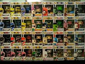 FUNKO POP FIGURES FOR SALE - MARVEL, DC, POWER RANGERS
