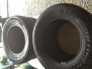 "Set of 4 - Continental P215/70r16"" all season tires - $160. St. John's Newfoundland image 4"