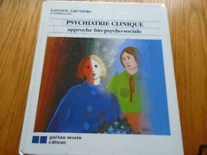 livre  Psychiatrie clinique: approche bio-psycho-social