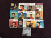 13 Limited Edition ELVIS CD's Double Sided Singles UNUSED