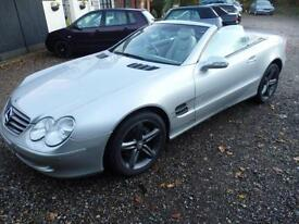 Mercedes-Benz SL 500 *74,000 MILES, FSH, GLASS ROOF, SAT NAV*