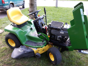 John Deere Riding Mower with Deck LX178