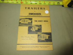 TRAILERS BY WOODS OWNERS MANUAL