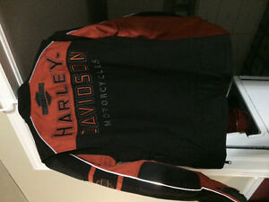 Harley Davidson dual shell ballistic nylon riding jacket