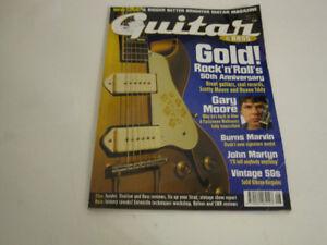 Guitar Aug 04: SGs, Gary/Scotty Moore, Strat 3bolt tech, Sun 50t