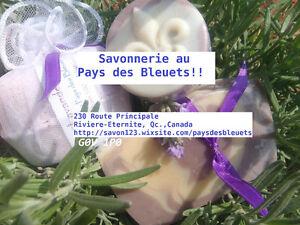Savon cadeaux bombes de bain sel relaxant cream deodorant baume Saguenay Saguenay-Lac-Saint-Jean image 1