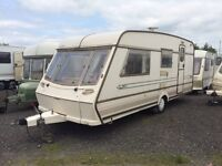 4 BERTH ABBEY GTS 1999 WITH END BATHROOM SIDE DINET FULL AWNING AND MORTOR MOVER AND WE CAN DELIVER
