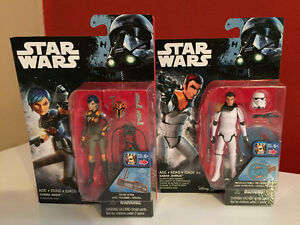 Star Wars 3.75 Inch Action Figures, Sealed