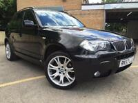 2007/57 BMW X3 2.0D AUTO M SPORT FULLY COLOUR CODED