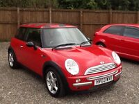 Mini Cooper 1 owner from new