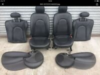 Ford KA leather interior