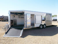 Used 2013 Mission MCH 8.5X27 Car & Combo Heated Xtra Height!!