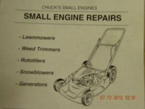 CHUCKS SMALL ENGINE REPAIR