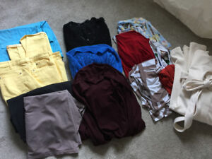 XL 16-18 Mixed clothing, pants, tops, jackets, dressing gown