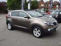 2011 Kia Sportage 2.0 CRDi KX 2 5dr Auto 5 door Estate