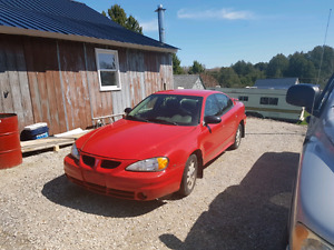 2004 grand am only 166 000 km