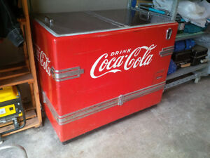 WOW Antique Coke Cooler.