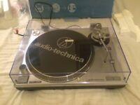 Audio Technica AT-LP120 Direct Drive Turntable Decks