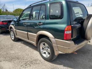 2001 Suzuki Grand Vitara 198km $1650 call 416 737 7691