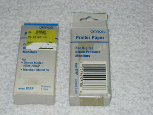 PRINTER PAPER - OMRON - BLOOD PRESSURE MONITOR - BRANDNEW