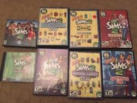 Sims 2 game collection