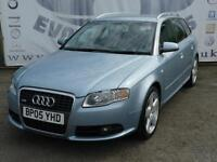 2005 AUDI A4 2.0 TDI S LINE ESTATE FULL SERVICE HISTORY LAST AT 128K TIMING BELT