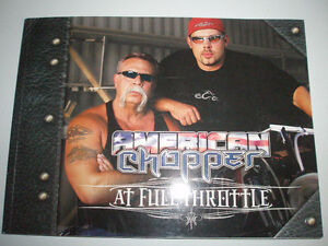 AMERICAN CHOPPER AT FULL THROTTLE BOOK & V-TWIN ANNUAL