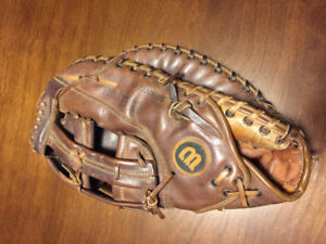 Baseball First Baseman's Glove