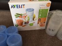 Avent storage containers