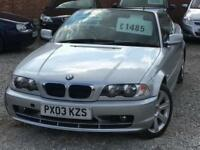 2003 BMW 3 SERIES 318ci 2