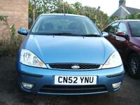 2002 Ford Focus 2.0i 16v Ghia 4d CLEARANCE CAR