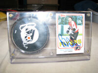 Autographed Hockey pucks for sale