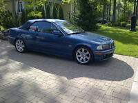 BMW 325CI 2002 CONVERTIBLE